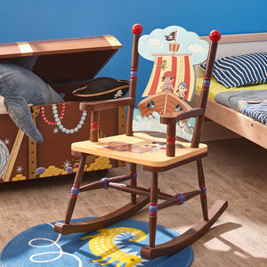 Fantasy Fields-Pirate Island Rocking Chair - Childhood Home - kids bedrooms & play spaces