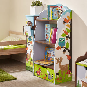 """Fantasy Fields-Enchanted Woodlands Bookshelf"" - Childhood Home - kids bedrooms & play spaces"