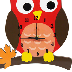 """Fantasy Fields-Enchanted Woodlands Wall Clock"" - Childhood Home - kids bedrooms & play spaces"