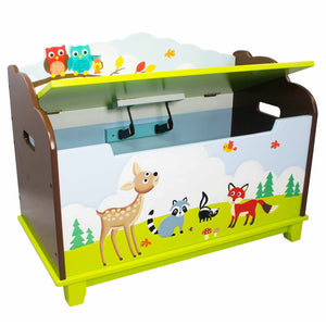 Fantasy Fields-Enchanted Woodlands Toy Box - Childhood Home - kids bedrooms & play spaces