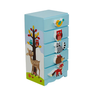 """Fantasy Fields-Enchanted Woodlands Trinket Chest"" - Childhood Home - kids bedrooms & play spaces"