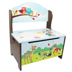 Fantasy Fields-enchanted Woodland Storage Bench - Childhood Home - kids bedrooms & play spaces