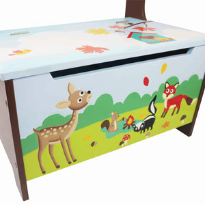 Enchanted Woodland Storage Bench Seat - Childhood Home - kids bedrooms & play spaces
