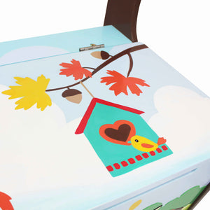 """Fantasy Fields-enchanted Woodland Storage Bench"" - Childhood Home - kids bedrooms & play spaces"