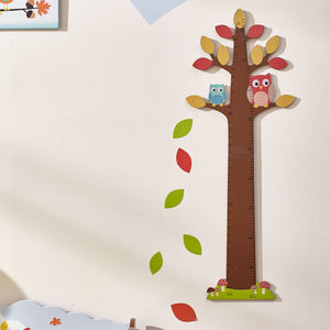 """Fantasy Fields-Enchanted Woodlands Growth Chart"" - Childhood Home - kids bedrooms & play spaces"