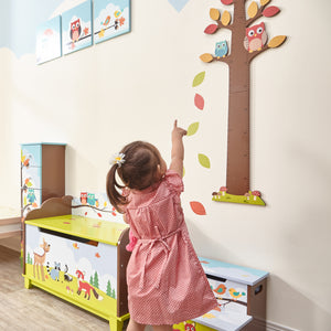 Fantasy Fields-Enchanted Woodlands Growth Chart - Childhood Home - kids bedrooms & play spaces