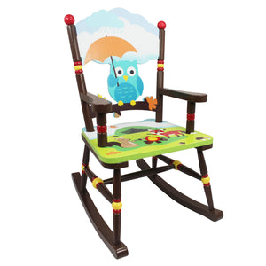"""Fantasy Fields-enchanted Woodland Rocking Chair"" - Childhood Home - kids bedrooms & play spaces"