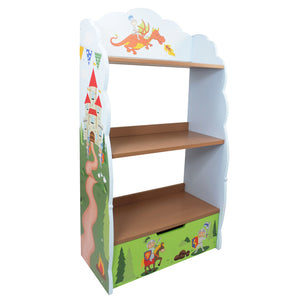 Fantasy Fields-Knights & Dragon Bookshelf - Childhood Home - kids bedrooms & play spaces