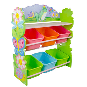Fantasy Fields-Magic Garden Toy Organiser with Bins - Childhood Home - kids bedrooms & play spaces