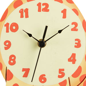 """Fantasy Fields - Sunny Safari Giraffe Wall Clock"" - Childhood Home - kids bedrooms & play spaces"