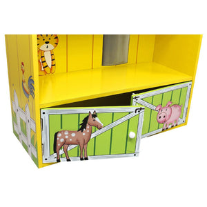 """Fantasy Fields - Happy Farm Barn Bookshelf"" - Childhood Home - kids bedrooms & play spaces"