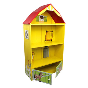 Fantasy Fields - Happy Farm Barn Bookshelf - Childhood Home - kids bedrooms & play spaces