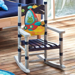 """Fantasy Fields-Outer Space Small Rocking Chair"" - Childhood Home - kids bedrooms & play spaces"