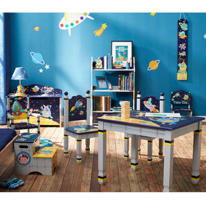 """Fantasy Fields-Outer Space Step Stool"" - Childhood Home - kids bedrooms & play spaces"