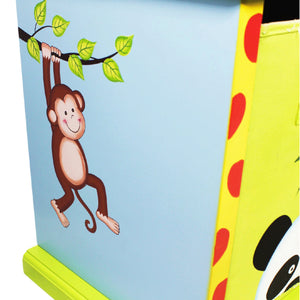 """Fantasy Fields-Sunny Safari 3 Bag Storage Cabinet"" - Childhood Home - kids bedrooms & play spaces"