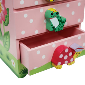 """Fantasy Fields-Magic Garden Trinket Chest"" - Childhood Home - kids bedrooms & play spaces"