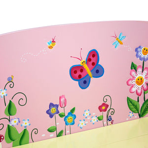 Fantasy Fields-Magic Garden Storage Bench - Childhood Home - kids bedrooms & play spaces