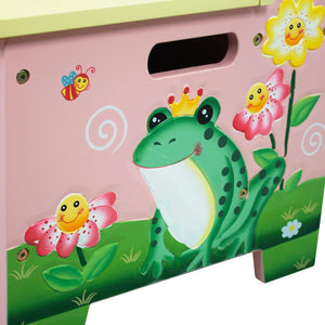 """Fantasy Fields-Magic Garden Storage Bench"" - Childhood Home - kids bedrooms & play spaces"
