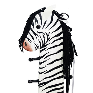 """Teamson Kids- Zoo Kingdom Zebra high backed stool w/coat rack"" - Childhood Home - kids bedrooms & play spaces"