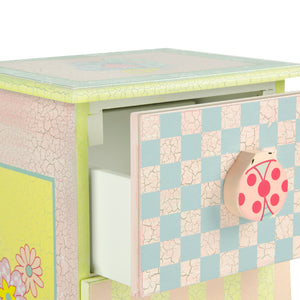 """Fantasy Fields-Crackled Rose 7 Drawer Cabinet"" - Childhood Home - kids bedrooms & play spaces"