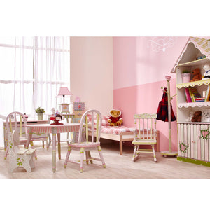 """Fantasy Fields-Crackled Rose Standing Mirror"" - Childhood Home - kids bedrooms & play spaces"