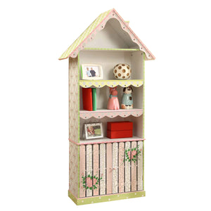 Fantasy Fields-Crackled Rose Bookshelf - Childhood Home - kids bedrooms & play spaces