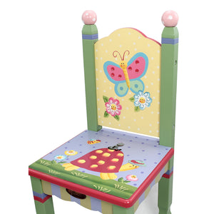 """Fantasy Fields Magic Garden Table & 2 Chairs Set"" - Childhood Home - kids bedrooms & play spaces"