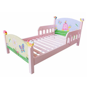 """Fantasy Fields-Magic Garden Toddler Bed"" - Childhood Home - kids bedrooms & play spaces"