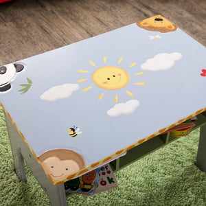 """Fantasy Fields - Sunny Safari Desk"" - Childhood Home - kids bedrooms & play spaces"