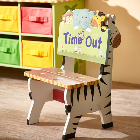Fantasy Fields-Sunny Safari Time Out Chair - Childhood Home - kids bedrooms & play spaces