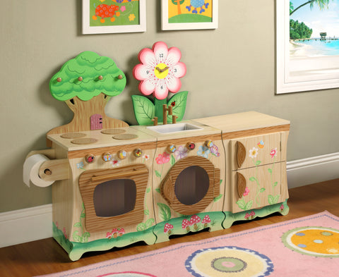 Teamson Kids-Enchanted Forest Kitchen 3 Piece Set