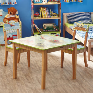 Fantasy Fields-Transport Table & Chairs set - Childhood Home - kids bedrooms & play spaces