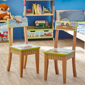 Fantasy Fields-Transport 2 Chairs set - Childhood Home - kids bedrooms & play spaces