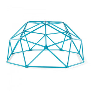 Plum Deimos Metal Climbing Dome, Teal - Childhood Home - kids bedrooms & play spaces