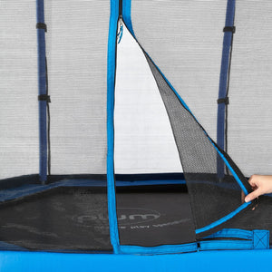 Plum 2.13 Metres (7ft) Junior Trampoline with Safety Enclosure, Blue or Pink - Childhood Home - kids bedrooms & play spaces