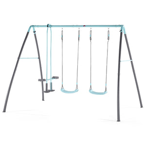 Plum Premium Metal Double Swing & Glider with Mist - Childhood Home - kids bedrooms & play spaces