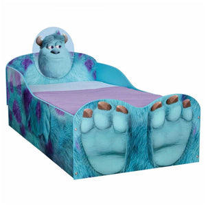 Disney Monsters University Toddler Bed with Side Panel Design - Childhood Home - kids bedrooms & play spaces