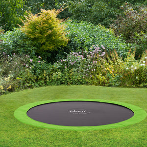 10ft Circular In-Ground Trampoline - Childhood Home - kids bedrooms & play spaces