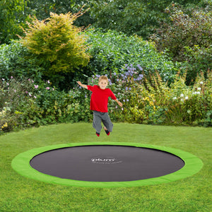 Plum 3.05 Metres (10ft) In-Ground Trampoline with Cover - Childhood Home - kids bedrooms & play spaces