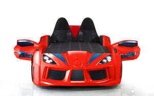 Pre-Order GT Turbo Racing Car Bed with Opening Doors, Lights and Sounds - Childhood Home - kids bedrooms & play spaces