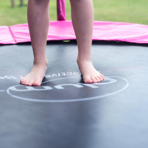 Plum 1.82 Metres (6ft) Trampoline with Safety Enclosure, Pink - Childhood Home - kids bedrooms & play spaces