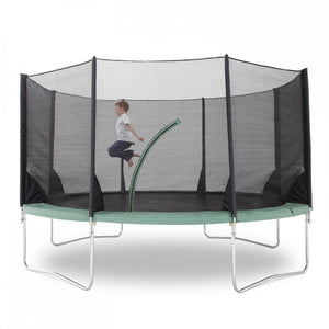 Plum 4.26 Metres (14ft) Space Zone V3 Trampoline with Safety Enclosure - Childhood Home - kids bedrooms & play spaces