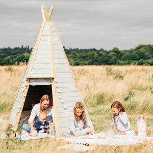 Plum Great Wooden Hideaway Outdoor Teepee, Medium and Large Sizes - Childhood Home - kids bedrooms & play spaces