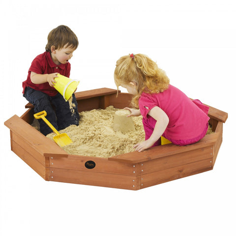 Plum Treasure Beach Sandpit with Protective Cover - Childhood Home - kids bedrooms & play spaces