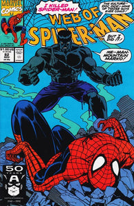 Web of Spider-man #82 by Marvel Comics