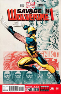 Savage Wolverine #1 by Marvel Comics