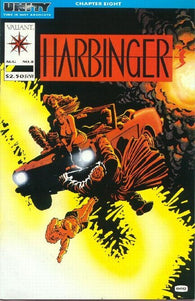 Harbinger #8 by Valiant Comics