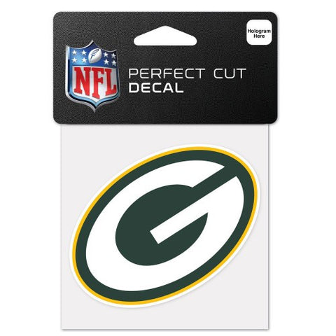 "Perfect Cut Decal - Green Bay Packers Logo 4""x4"" - BIERskins™"