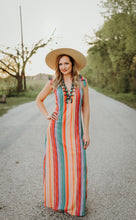 Summer sunset dress