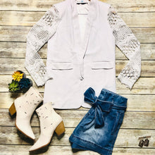 The bride blazer